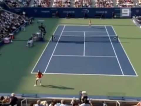 Maria Sharapova vs Amelie Mauresmo 2006 US Open Highlights