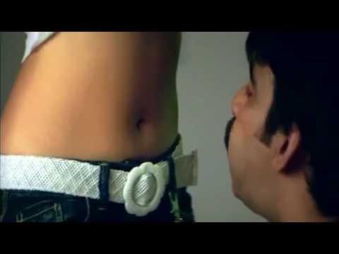 Anushka Hot Navel Pressed Hard video