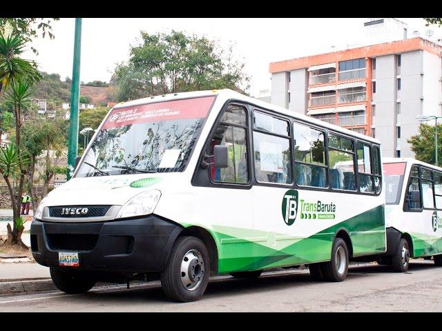 Blyde inaugura el sistema de transporte TransBaruta