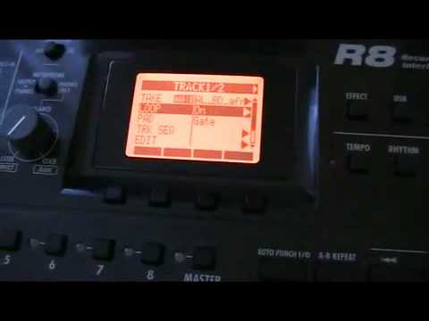 Zoom R8: working with samples - making your own drumkit