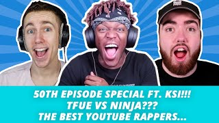 EPISODE 50 With KSI!! - What's Good Podcast Full Episode 50