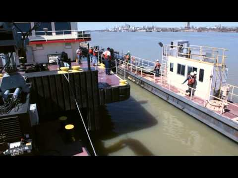 Motor Vessel Mississippi Emerges from Dry Dock