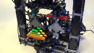 LEGO Tower of Hanoi robot