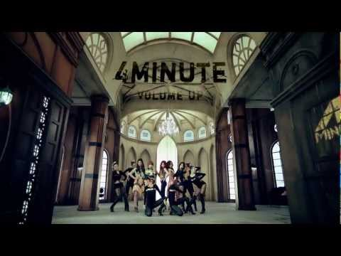 4MINUTE  - 'Volume Up' M/V