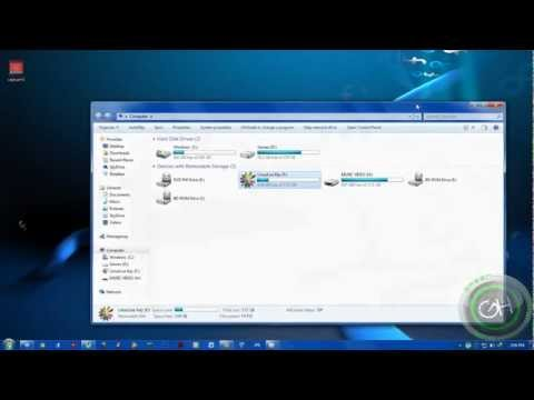How To Change USB Flash Drive Icon Using Notepad