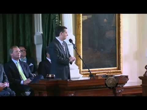 Sen. Ted Cruz's Remarks at Attorney General Ken Paxton's Swearing In