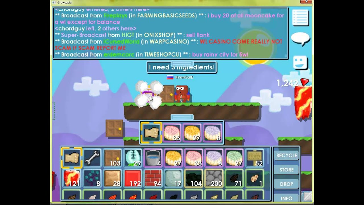 Growtopia recipes abc order words photo the cook is cooking splicing this is the crafting of growtopia to growtopia for newbies there are a number of places where you can find recipes forumfinder Choice Image