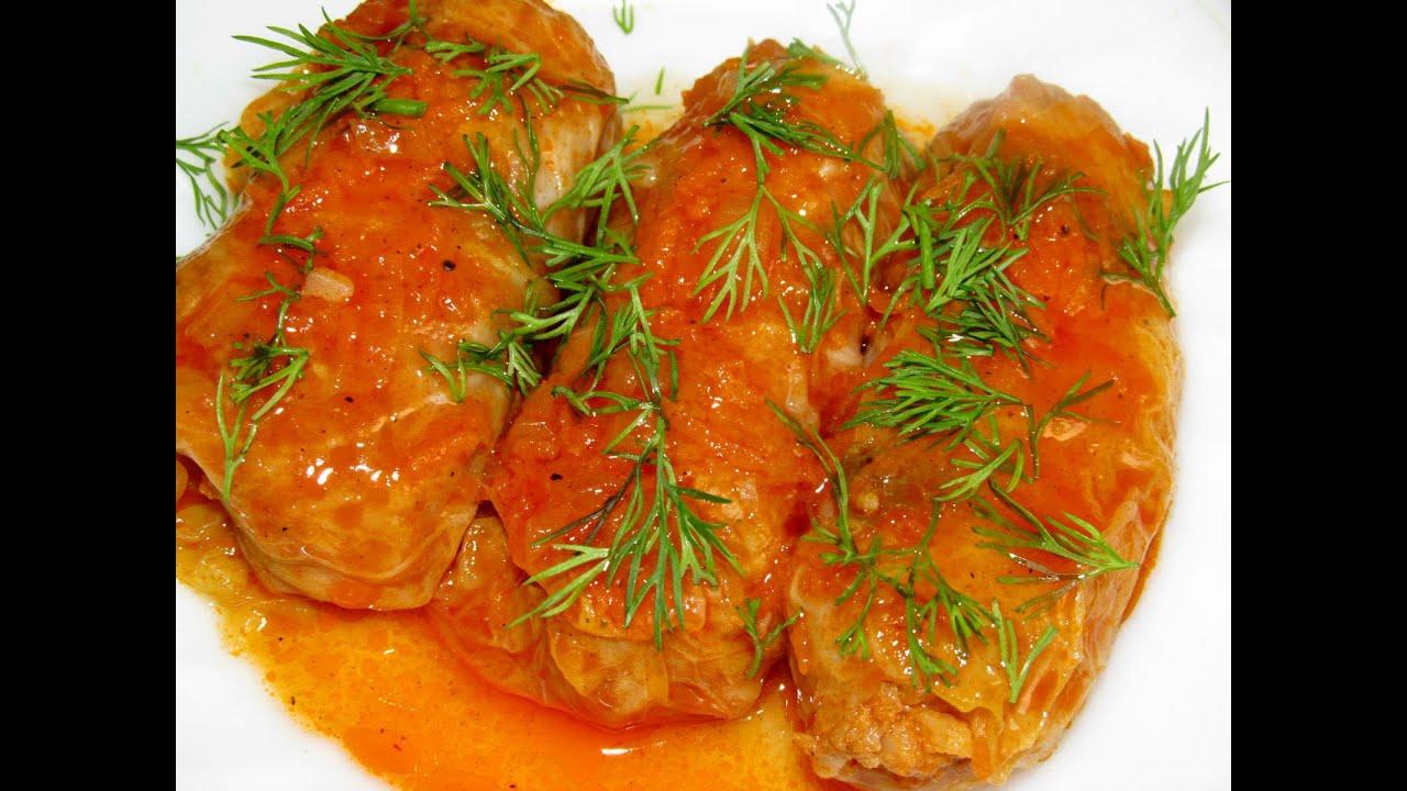 Голубцы из свежей капусты с рисом пошаговый рецепт