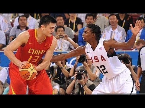 China vs USA 2008 Beijing Olympics Men's Basketball Group Match FULL GAME HD 720p English