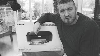 Printing Your Work - Canon Pixma ip8750 Unboxing and First Impressions