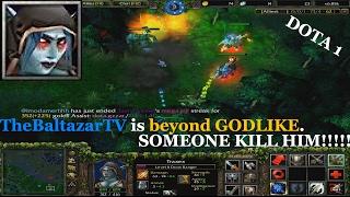 Drow Ranger beyond GODLIKE - Dota 1 Warcraft III