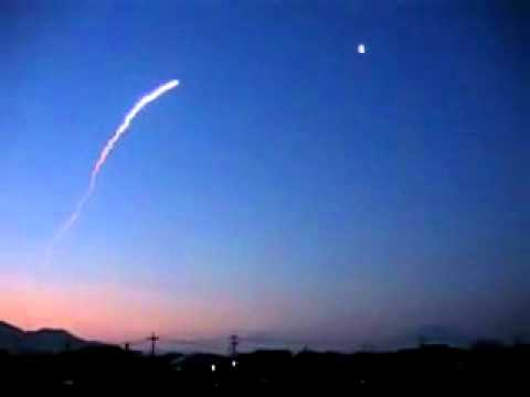 Rocket launched over Japan.. April 24 2011.