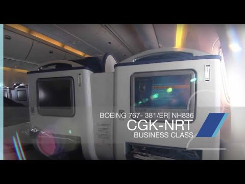 FRP S2E11 - All Nippon Airways NH836 Business Class Experience   Jakarta CGK - Tokyo NRT
