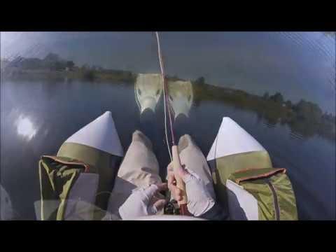 Float Tube Fishing the Outcast Fish Cat 4