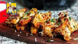 Garlic Parmesan Chicken Wings | Appetizers