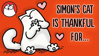 Play this video THINGS SIMON39S CAT IS THANKFUL FOR Thanksgiving Collection