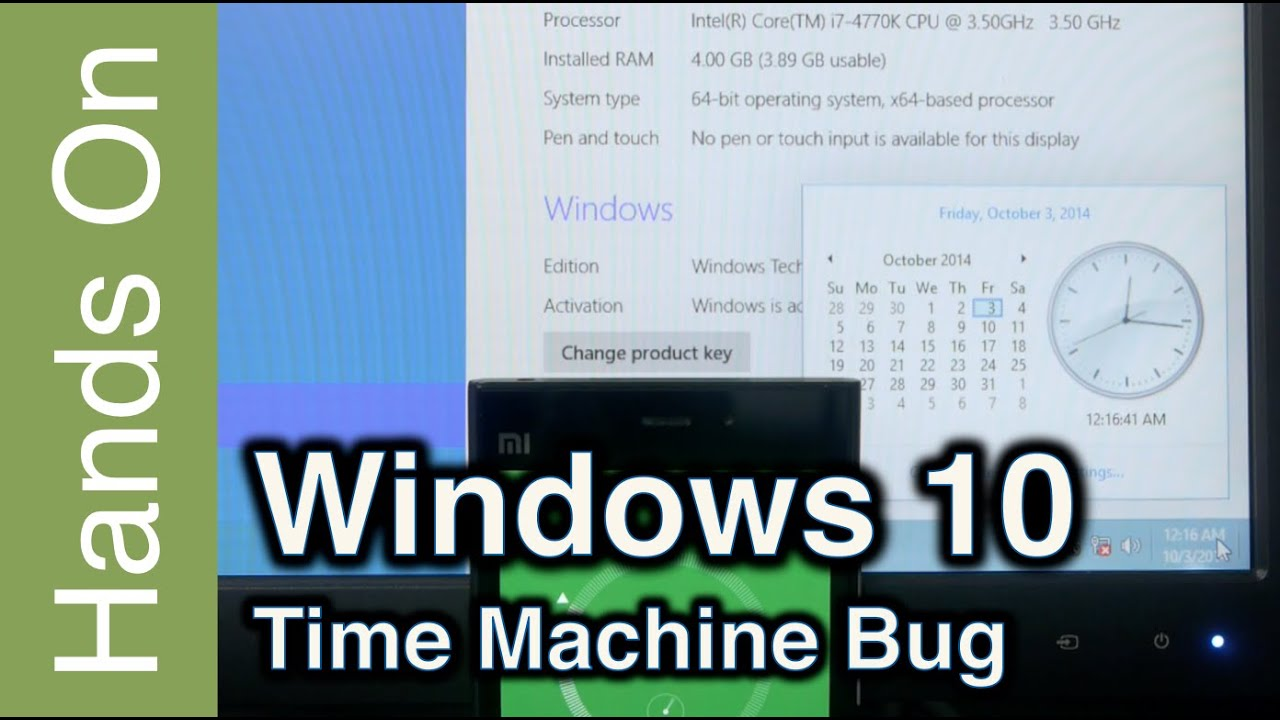 Windows 10 Time Machine  YouTube
