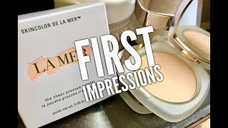 NEW La Mer The Sheer Pressed Powder First Impressions