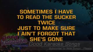 Big Blue Note - Toby Keith ( Karaoke Lyrics )