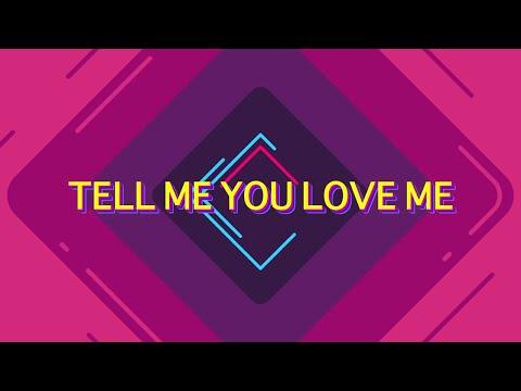 Galantis & Throttle - Tell Me You Love Me [Lyrics / Lyric Video]