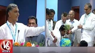 Harish Rao Speech At National Convention On 'Rejuvenation Of Krishna River' | Hyderabad