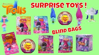 Dreamwork Trolls Surprise Toys Blind Bags Opening Series 5 4 3 2 1 Chupa Chups Tins Kids Fun