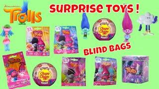 Dreamworks Trolls Surprise Toys Blind Bags Opening Series 5 4 3 2 1 Chupa Chups Tins Kids Fun