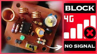 Make Your Own Cell Phone Signal Jammer Using NE555 Timer