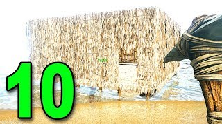 ARK: Survival Evolved Multiplayer - Part 10 - BUILDING A HOUSE BOAT