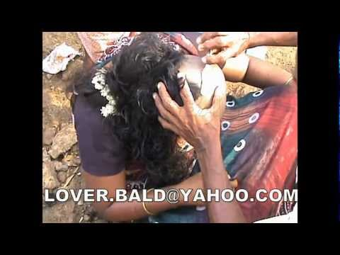 INDIAN WOMEN HEAD SHAVE CHIT FEST 2011 (HD)