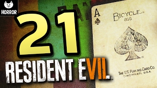 21 - Resident Evil 7 Card Game DLC LIVE - BANNED Footage #2