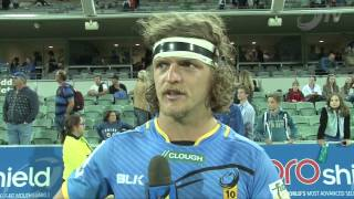Nick 'Honey Badger' Cummins Post Stormers Game | Super Rugby Video Highlights