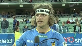 Nick 'Honey Badger' Cummins Post Stormers Game | Super Rugby Video Highlights