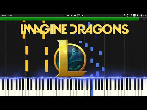 Warriors - Imagine Dragons - Piano Synthesia Tutorial