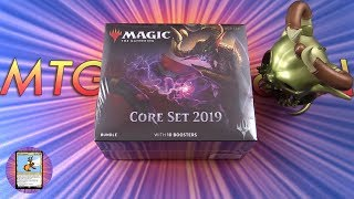 Core Set 2019 Bundle unboxing - MYTHIC!