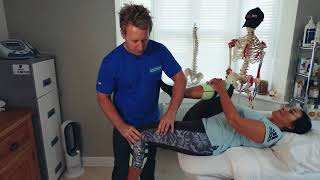 THE PSOAS Muscle - Simple test for tight HIP FLEXORS