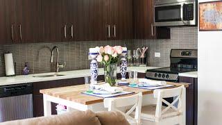 New York City Studio Apartment Tour: The Kitchen