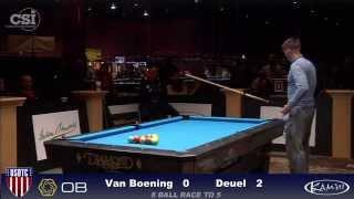 2015 USBTC 8-Ball: Shane Van Boening vs Corey Deuel