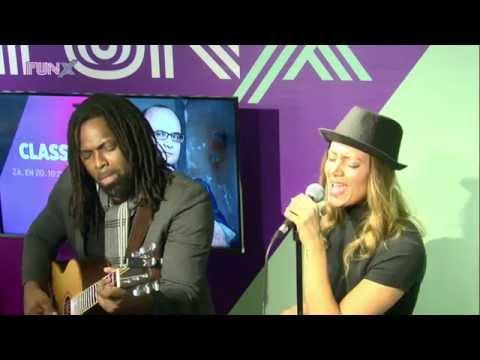 "Soraya ""The Voice Arab"" performs live @ FunX Radio (Cover: Rihanna - Stay)"