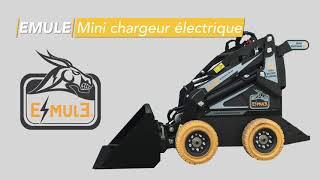 E-MULE de KAVIK - E.MULE est un mini chargeur doté d'une multitude d'équipements