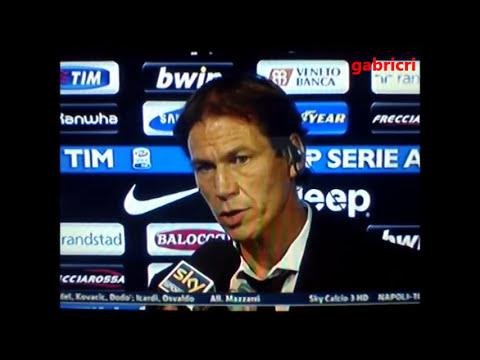 Juventus Roma 3 2 Garcia polemica con Mauro per la moviola in campo Sky Sport