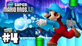 New Super Mario Bros U Wii U - Part 4 World 3