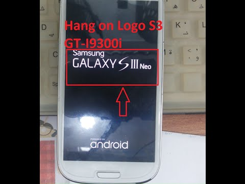 Repair Samsung Galaxy S3 Neo Duos GT-I9300i hang on Logo