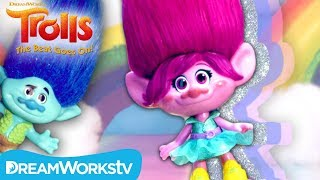 """""""Hair in the Air"""" Trolls Music Video (with Party Hair Poppy Toy) 