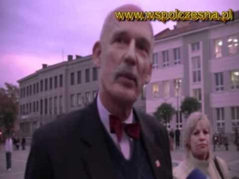 Janusz Korwin-Mikke W Białymstoku
