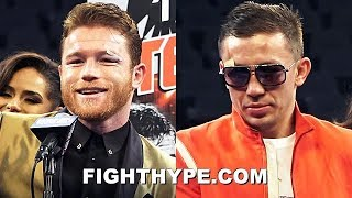 CANELO VS. GOLOVKIN 2 FULL POST-FIGHT PRESS CONFERENCE; CANELO, GOLOVKIN, & HOPKINS RAW & UNCUT