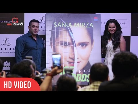Salman Khan Inaugration Sania Mirza Ace Against Odds Autobiographical Book