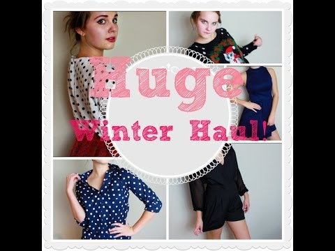HUGE WINTER HAUL! Target, Urban Outfitters, and more!
