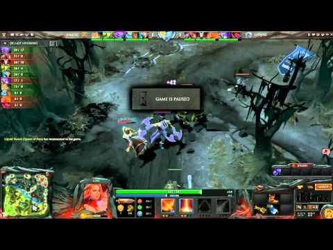 Ritmix RDL LB Round 1 Fnatic vs Team Liquid game 2