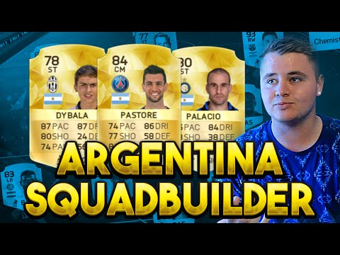 FIFA 16 ARGENTINA SQUAD BUILDER - DYBALA PEREYRA & PASTORE ARE OVERPOWERED